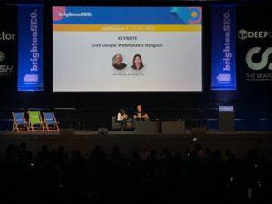 Aleyda Solis interviewing John Mueller Google