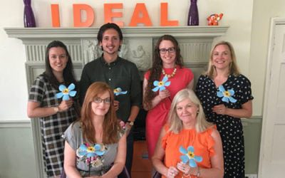 The Ideal Marketing Company proudly support the LOROS flower appeal